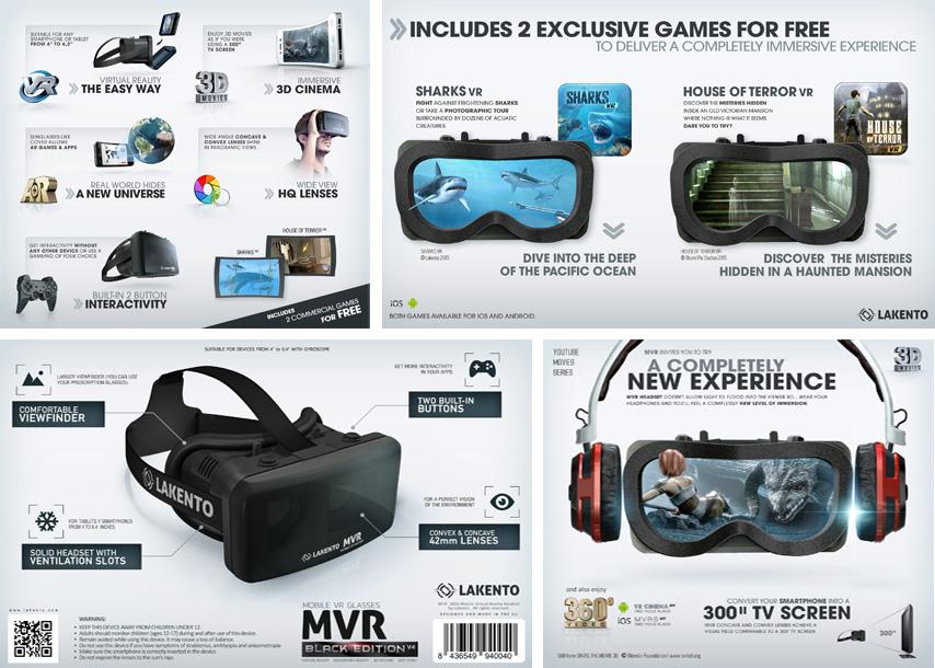 Saber más sobre las gafas de realidad virtual Lakento MVR v4