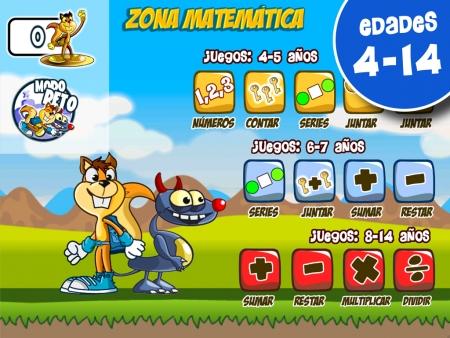 Zona Matemática en Monster Numbers: modo Reto, juegos de suma, resta, multiplicación, división, series, contar
